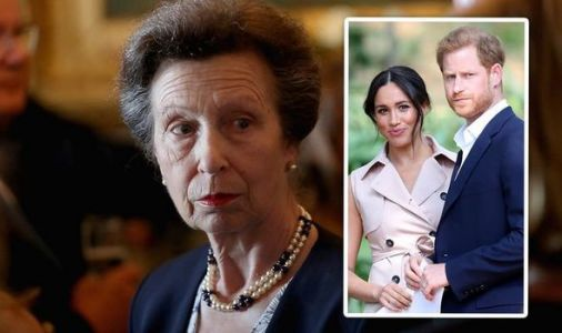 Princess Anne snub: Queen's daughter's snarky remark when asked about Meghan and Harry