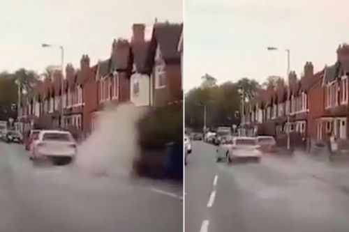 Driver faces £5,000 penalty fine for veering into puddle to soak pedestrian