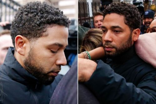 Jussie Smollett heads straight back to Empire set after posting $100k bail