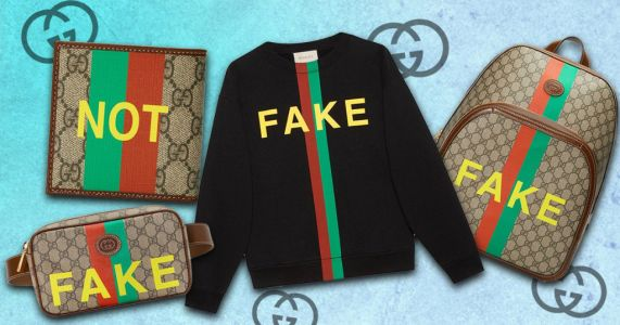 Gucci mocks designer knockoffs with new 'Not/Fake' collection