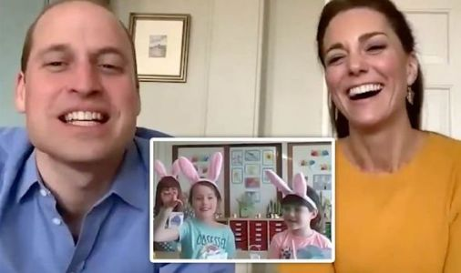 Prince William told off by pupil during Duke and Kate's first royal video engagement