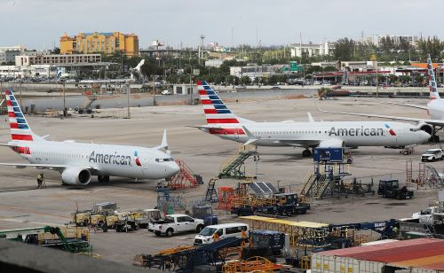 An American Airlines executive reveals why its exposure to the grounding of the Boeing 737 Max has been limited