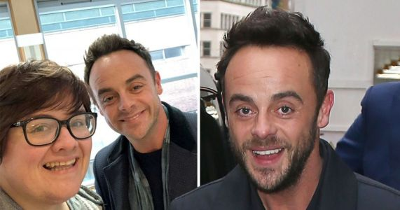 Ant McPartlin beams as he poses with fan just days after Lisa Armstrong divorce