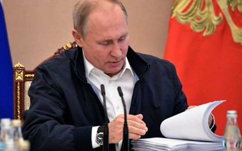 1.5 million questions submitted to Putin for call-in show