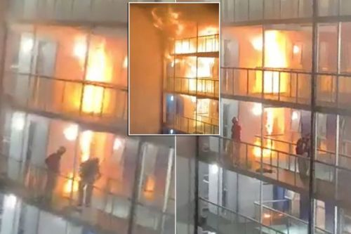 Bolton fire: Terrifying footage shows just how fast blaze spread in student block