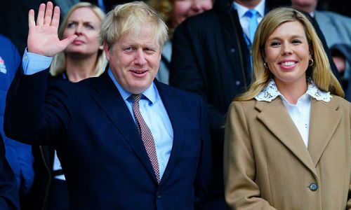 Boris Johnson's pregnant fiancée Carrie Symonds reacts to PM leaving intensive care