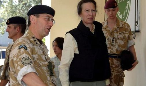 Princess Anne gives 'huge morale boost' to troops during visit to Royal Corps of Signals