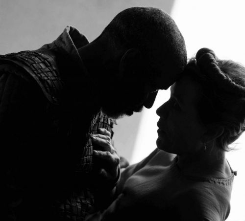 Tomorrow creeps in its petty pace in the first image from Joel Coen's Macbeth