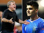 Gheorghe Hagi delighted at son Ianis' heroics for Rangers after being pictured in tears