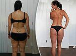 Mum-of-two, 36, reveals how she shed fat from her body and toned up in MONTHS