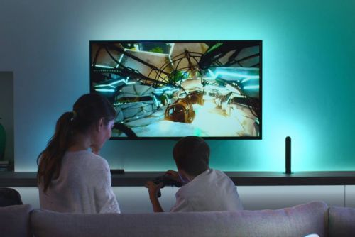 Philips Hue Play HDMI Sync Box turns any room into an immersive games zone