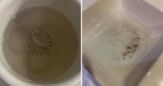 Woman reveals easy way to clean all the dirt lurking in wedding rings