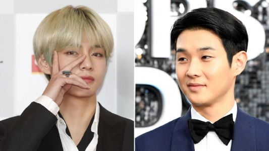 BTS' V casually strolling through Los Angeles with Parasite's Choi Woo Shik is the best thing you'll witness today