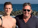 Piers Morgan's youngest son Albert, 19, has been suffering from 'mild' coronavirus