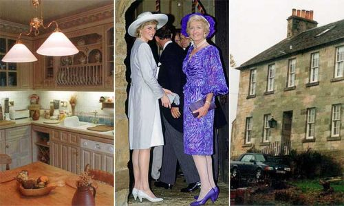 Princess Diana's mother's holiday home for Prince William and Harry revealed