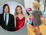 Diane Kruger and Norman Reedus give rare glimpse at daughter in belated National Daughters Day posts