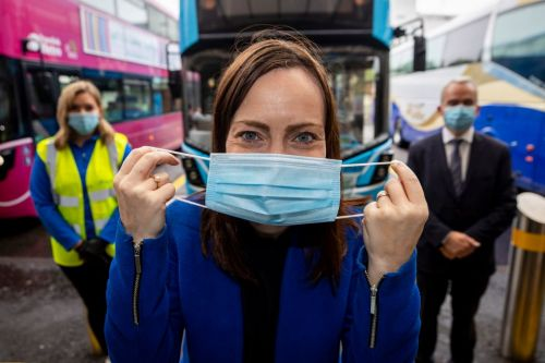 Coronavirus in Ireland LIVE - Face masks to be mandatory on public transport with fines or jail for non-compliance
