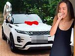 Peter Andre,46, surprises his VERY shocked wife Emily with a brand new Range Rover on her 30th