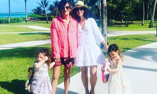 Ronnie Wood shares sweet photos of his twins on fun day out with Fearne Cotton