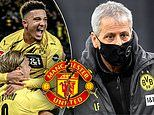 Jadon Sancho's poor form could be due to Manchester United interest according to Dortmund boss