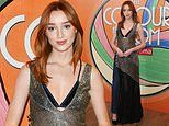 Phoebe Dynevor at preview screening of her new feminist biopic The Colour Room