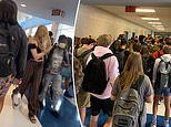 Georgia school reverses decision to suspend teen over crowded hall photo