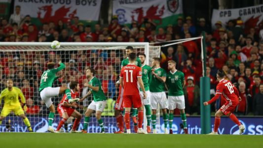 Video: Harry Wilson's free-kick fires Wales to win against Ireland