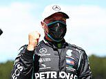 Valtteri Bottas stuns Lewis Hamilton by pipping Mercedes team-mate to F1 Austrian Grand Prix pole