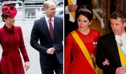 Kate and William's 'last-gasp bid to stop Denmark's Megxit' exposed