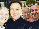 Jason Donovan celebrates his 20 year relationship anniversary with his wifeAngela Malloch