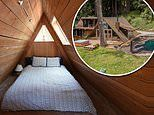 Silicon Valley 'hobbit village' featuring a BOMB SHELTER goes on the market for $3.4million
