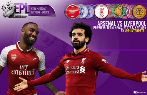 Arsenal Vs Liverpool Preview | Team News, Stats & Key Men