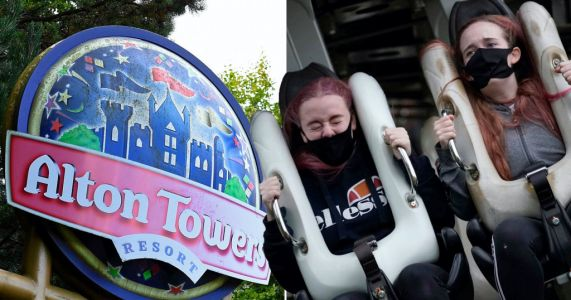 Alton Towers forced to shut as thunderstorm cuts off water supply
