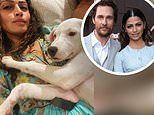 Camila Alves reveals she and Matthew McConaughey have adopted yet ANOTHER dog