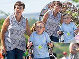 Boy, 9, with cerebral palsy completes 'ginormous' marathon challenge raising £47K for NHS