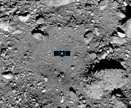OSIRIS-REx sample collection site selected on asteroid Bennu