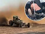 Racecar veers of course and plows into the crowd injuring 29, three critically
