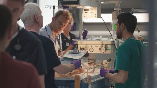 Casualty review with spoilers: The new F1 gets Rash into trouble and Ethan sticks his neck out for a friend