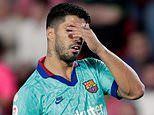 'We have a tough year ahead': Luis Suarez not optimistic after another Barcelona defeat in La Liga