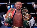 Josh Taylor will look to unify his light welterweight title belts against Jose Ramirez