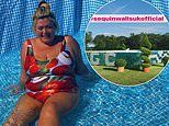 Gemma Collins has swimming pool bejewelled with SEQUINS and excitedly dubs garden 'Costa Del GC'