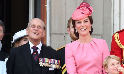 Kate Middleton's grandfather crossed paths with Prince Philip in the sixties