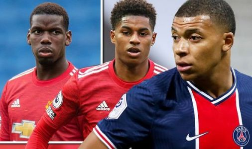 Kylian Mbappe reveals Paul Pogba chat about 'special' Marcus Rashford before PSG v Man Utd