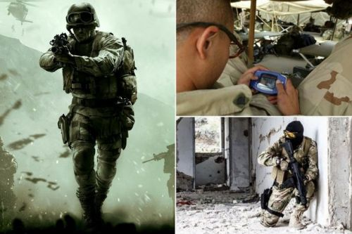 SAS troops play Call of Duty for hours before combat to give them a 'sharper edge'