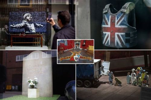 Banksy is selling off his iconic artwork to fans from just £10 a piece