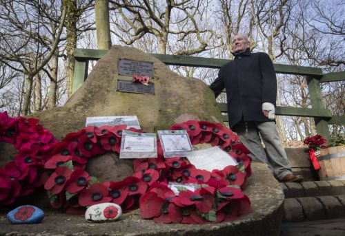 What is the Endcliffe Park flypast in Sheffield and when did the B17 Mi Amigo plane crash?