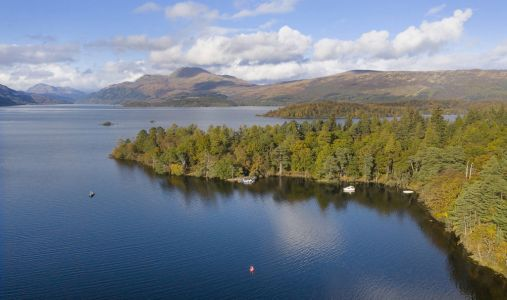 You can buy a private island in Loch Lomond for the price of a flat in London