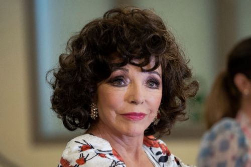 Dame Joan Collins, 87, 'honoured' to get Covid-19 vaccine on the same day as Queen and celebrates with drink