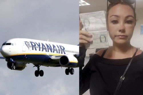 Ryanair stop Scots nurse from flying and reject her passport after face swelling