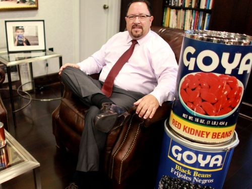 Goya Foods has voted to silence its Trump-supporting CEO Robert Unanue after he told Fox News the election was 'unverified'